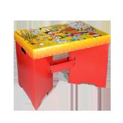 Dětský stůl skládací z kartonu