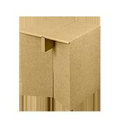 Židle skládací z kartonu